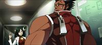 Iron Tager (Calamity Trigger, Arcade Mode Illustration, 1)