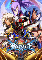 BlazBlue Chronophantasma (Arcade Poster)
