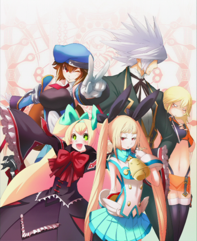 File:BlazBlue Chronophantasma Story Maniacs Material Collection II (Illustration, 15).png