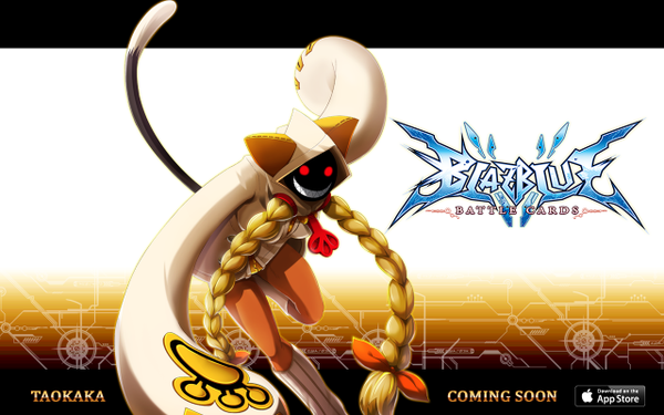 File:BlazBlue Battle Cards (Announcement of Taokaka).png