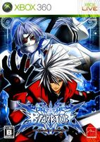 BlazBlue Calamity Trigger (Japanese Cover, Xbox 360)
