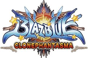 BlazBlue Clonephantasma (English Logo)
