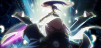 Jin Kisaragi (Chronophantasma, Arcade Mode Illustration, 1)