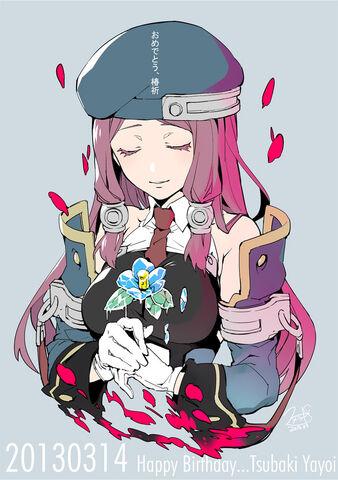 File:Tsubaki Yayoi (Birthday Illustration, 2013, Sumeragi).jpg