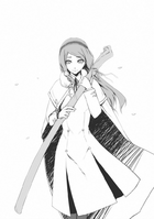 BlazBlue Spiral Shift Hyōjin no Eiyū (Black and white illustration, 5)