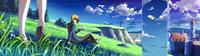 Jin Kisaragi (Calamity Trigger, Arcade Mode Illustration, 1, Type C)