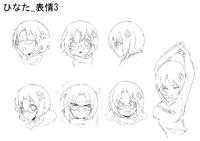 Hinata Himezuru (Concept Artwork, 7)