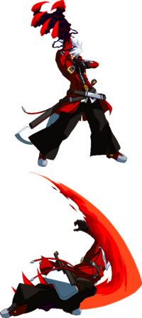 Ragna the Bloodedge (Sprite, Crush Trigger)