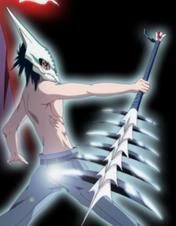 Kaito's zanpakuto shikai