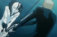 Ichigo vs Zangetsu Tensa