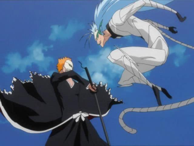 Ichigo vs Grimmjow (3. Kampf) | BleachWiki | FANDOM ...  Ichigo vs Grimm...