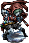 Elven Blowgunner Figure