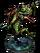 Lizardman Hunter + Figure