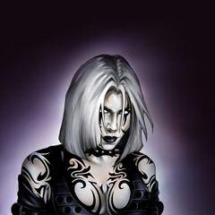 Rayne's dark alter ego in the comic book series