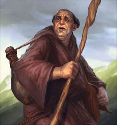 Image result for wandering monk