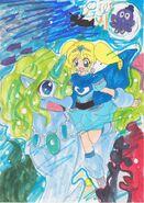 Bubbles and aqua by turtlehill-d5er1cb