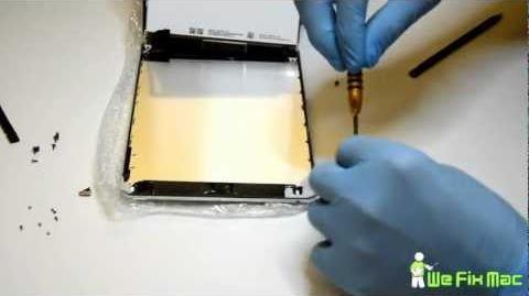 IPad mini touchscreen digitizer replacement