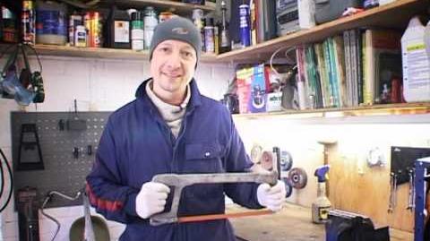 LROTV The Knowledge. Basic Skills - Using a Hacksaw