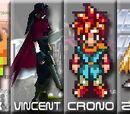 Link vs Vincent Valentine vs Crono vs Zero 2007
