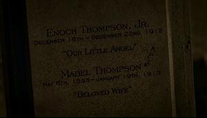 Enoch Jr & Mabel's tomb