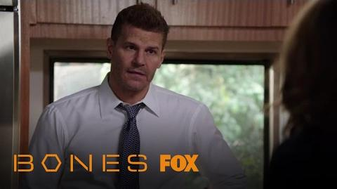 Booth Tries To Console Brennan Over Her Father's Death Season 12 Ep. 8 BONES