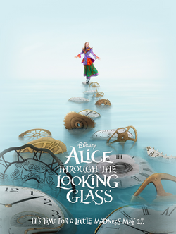 Alice Through the Looking Glass 2016 film poster 01