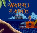 Wario Land 3 (Sega Mega Drive/Genesis)