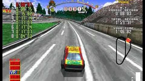 Daytona USA To The Maxx - Beginner Course