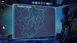 Borderlands2 fire totem 10 map