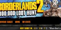 Borderlands 2 $100,000 Loot Hunt