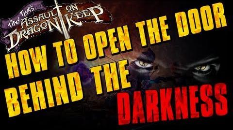 Borderlands 2 - How to Open The Door Behind The Darkness