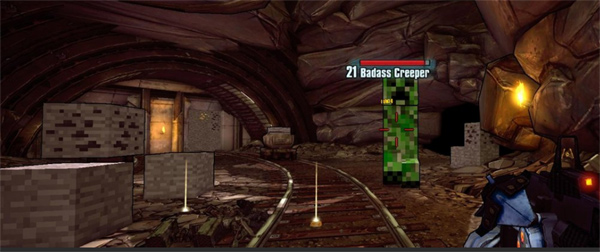 File:Borderlands-2-easter-egg-minecraft-invades-borderlands-2.jpg