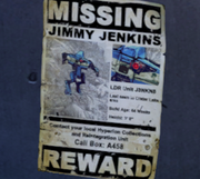 Borderlands2 Jimmy Jenkins Missing