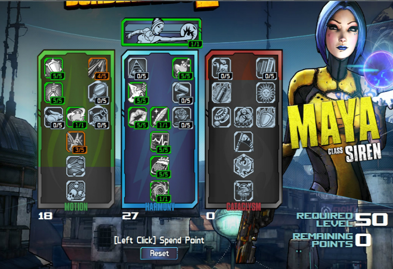 Maya Builds For Borderlands  Solo