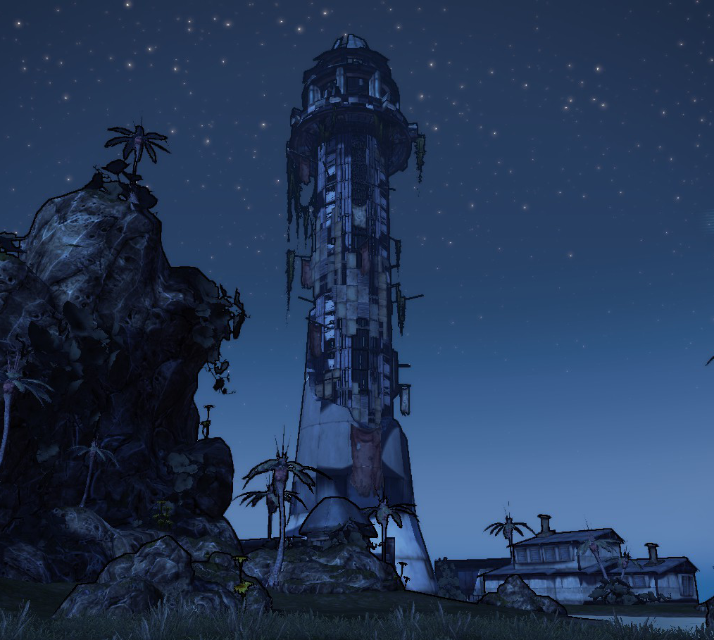 Magnys Lighthouse   Borderlands Wiki   Fandom powered by Wikia Borderlands Characters Brick
