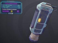 Grenade(Tediore) Sticky-Lobbed lvl9