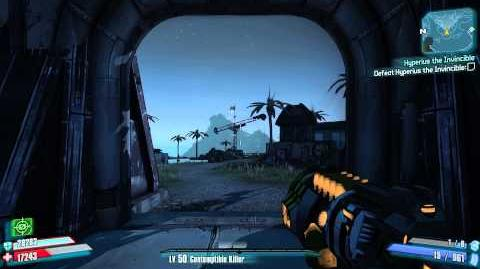 Borderlands 2 - Grenade Mods - Captain Blade's Midnight Star (Suicidal MIRV)