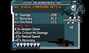 HX 540.G Crimson Bitch