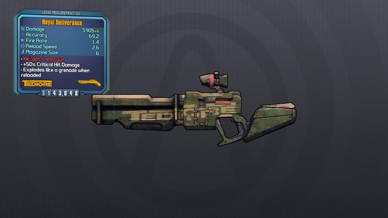 wikis borderlands Legendary Shotguns