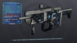 Brisk Boxxy Gunn 63 Blue Shock