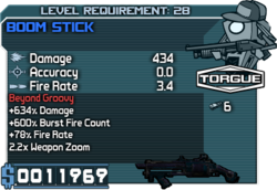 Boom Stick 5 line
