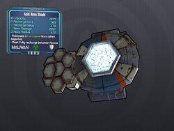 LV 30 Acid Nova Shield 2
