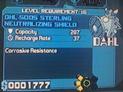 Dahl DHL-500S Sterling Neutralizing Shield
