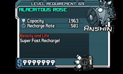 Alacritous Rose