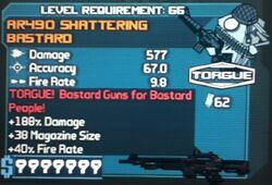 AR490 SHATTERING BASTARD