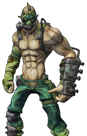 File:BL2-Krieg-Skin-I'M GONNA VOMIT.png