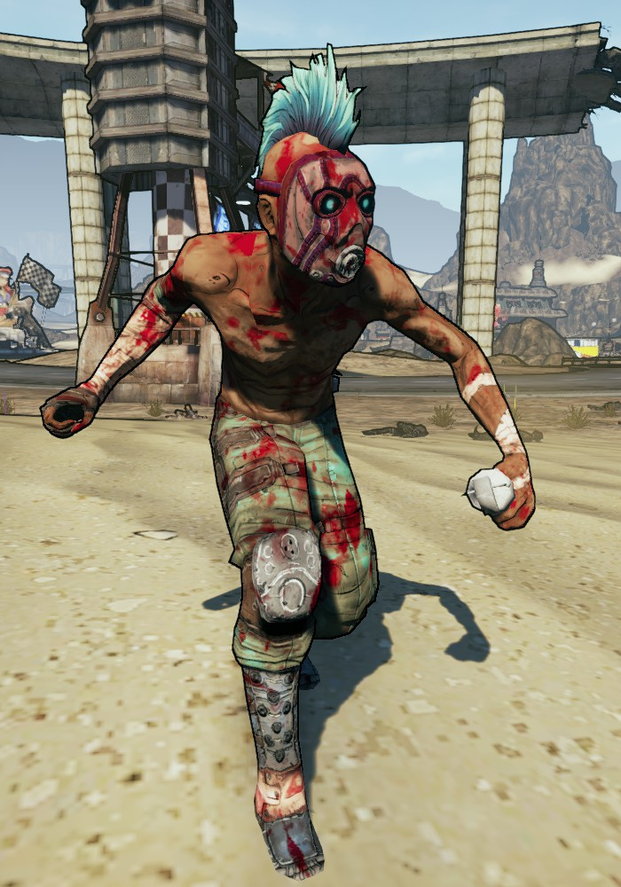 Suicide Psycho | Borderlands Wiki | FANDOM powered by Wikia Borderlands Characters Brick