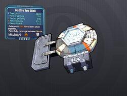 LV 29 Inert Fire Nova Shield