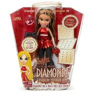 Bratz Forever Diamondz Fashion Set Fianna Doll