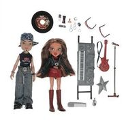 Bratz Rock Angelz Twin Pack Yasmin and Eitan Dolls